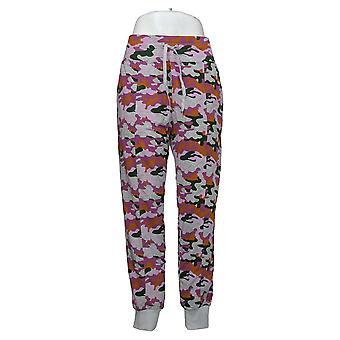 Cuddl Duds Women's Pants Lightweight Comfort Jogger Pink A373478