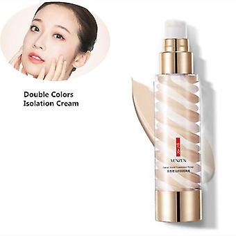New Brand Double Colors Gradient Care Foundation Concealer Prevent Bask Skin Care|Body Glitter