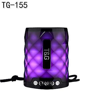 Mini Bass Speaker Powerful Column Bluetooth Portable DJ Sound Box Radio |Portable Speakers(Black)