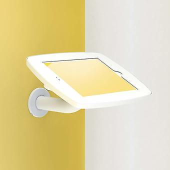 """Tablet-tietokoneen telakot seisovat haaratabletin turvakotelossa 25,4 Cm 10"""" valkoinen"""