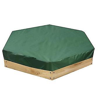 الأثاث في الهواء الطلق يغطي في الهواء الطلق سداسية لعبة الأطفال الرمل تغطية الأثاث غطاء قناع للماء الأخضر