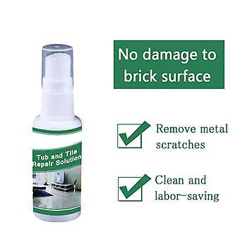 30ml Magic Tile Refinishing Spray Bathtub Tile Repair Renew Sink Ceramic Porcelain Floor Tiles Protective Spray Ceramic Polish