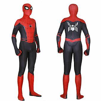 Spider Man in i superhjältedräkten Kids Miles Morales Cosplay Vuxen-1