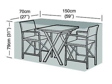2 Seater Large Bistro Set Cover Waterproof Polyethylene