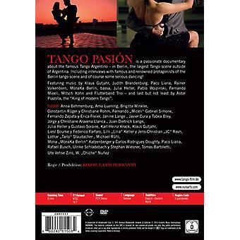 Tango Pasion - un Film de Tango en importation USA Berlin [DVD]