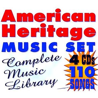 Amerikanske arv - amerikanske arv: Komplett musikkbiblioteket [DVD] USA import