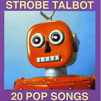 Strobe Talbot - 20 Pop Songs [CD] USA import