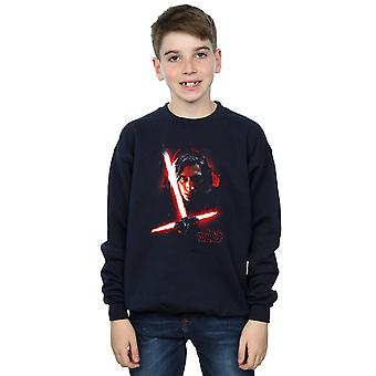Star Wars Boys ostatni Jedi Kylo Ren szczotkowane Bluza