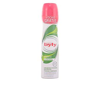 Byly Organic Extra Fresh Deo Spray 200 Ml For Women