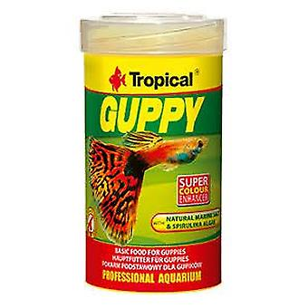 Tropical Guppy 100 Ml (Fish , Food , Cold Water)