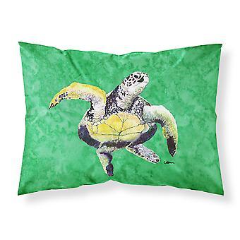 Carolines Treasures  8671PILLOWCASE Turtle  Dancing Moisture wicking Fabric stan