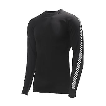 Helly Hansen HH Lifa Stripe Crew - Black