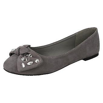 Kære plet på juvel bue Ballerina sko F80386