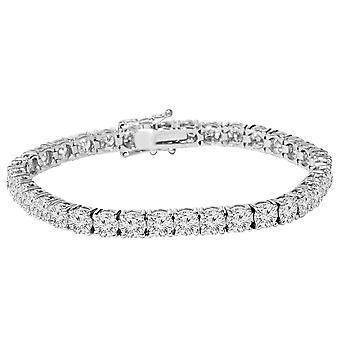 9 ct Genuine Diamond Tennis Bracelet 7