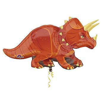 Amscan Supershape трицератопсов динозавр шар