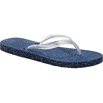 Donna/Womens animale Cosmos Glitter morbida sagomata infradito sandali