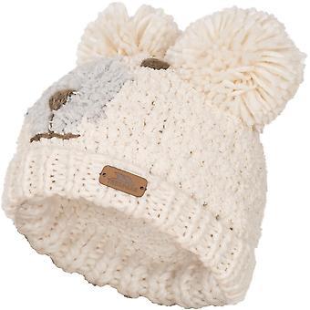 Trespass Boys & Girls Polar Bear Knitted Acrylic Novelty Hat
