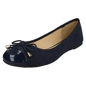 Damen-Spot auf Ballerina Schuhe