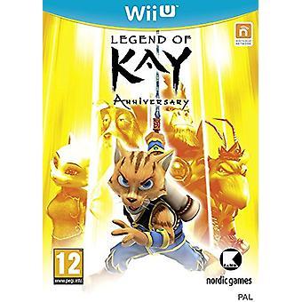 Legend of Kay Anniversary (Nintendo Wii U) - New