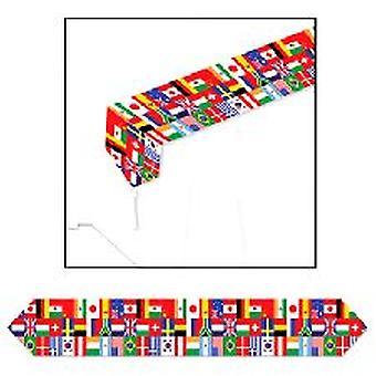 Corridore della tabella bandiera internazionale
