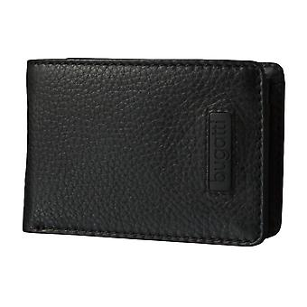Bugatti mini purse coin purse wallet card holder black 3577