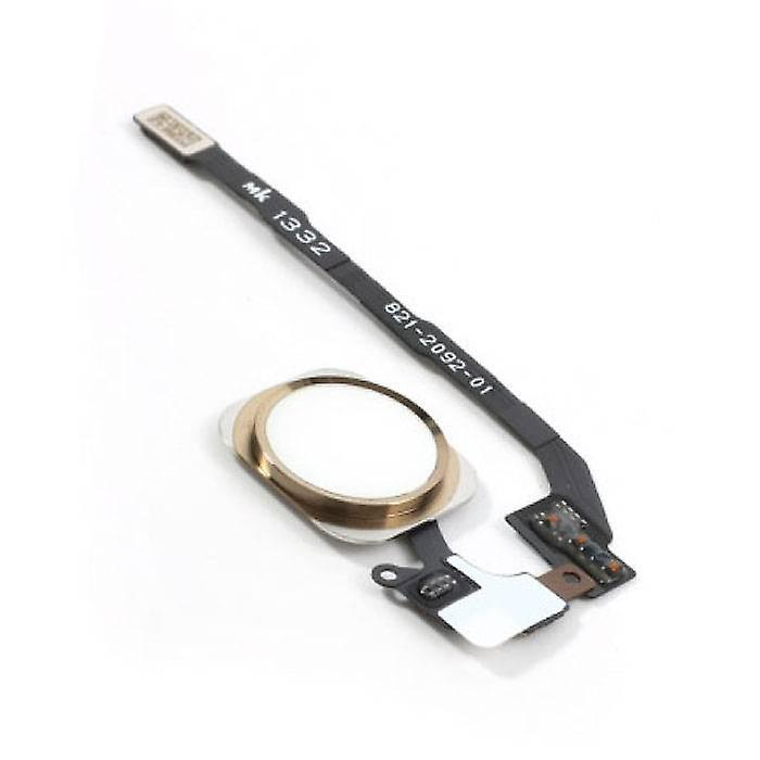 Stuff Certified® Apple iPhone 5S - A + Home Button Flex Cable Assembly with Gold