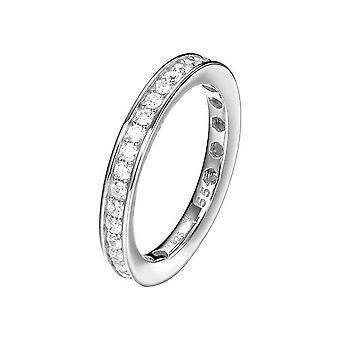 Joop kvinders ring sølv zirconia TAYLOR JPRG90788A
