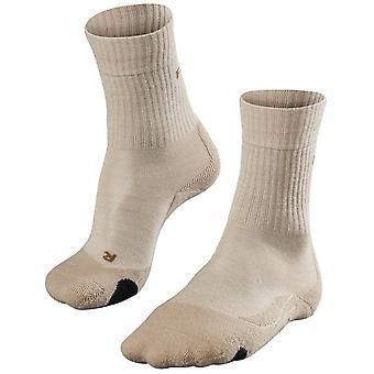 Falke Trekking 2 Medium Wool Socks - Sand Melange
