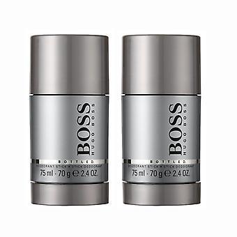 2-pack Hugo Boss Bottled Deostick 75ml