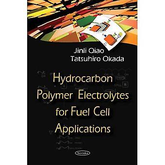 Eletrólitos de polímero de hidrocarboneto para aplicações de células de combustível