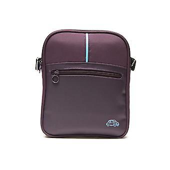 Genuine Branded Fiat 500 Car Bag Purple Tablet Messenger Bag Shoulder Strap Case
