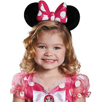 Minnie Pink Lite Up Child Ears