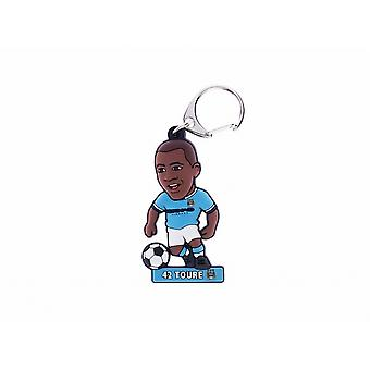 Manchester City FC Official Soccer Buddy Keyring
