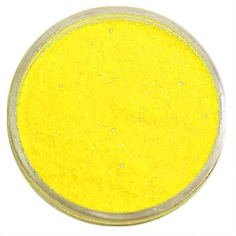1x Fine-grained glitter yellow