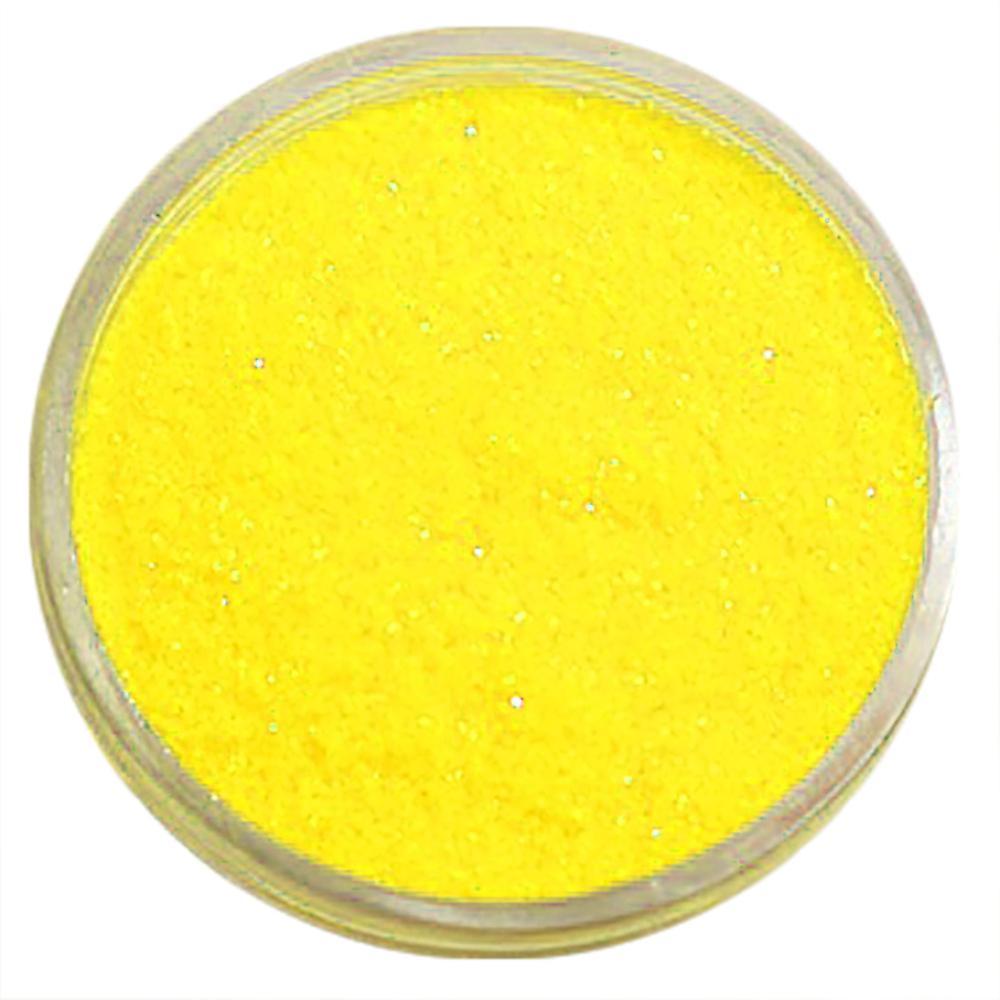 1x finkornet glitter gul