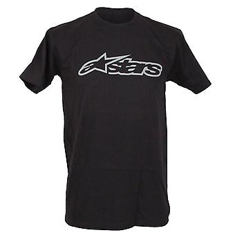 Alpinestars Mens T-Shirt ~ Blaze Classic black/grey
