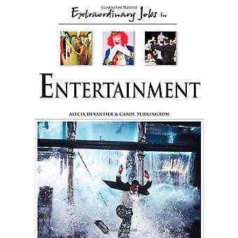 Extraordinära jobb inom underhållning
