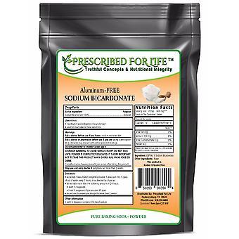 Sodium Bicarbonate - Natural Process USP No. 1 Food Grade Aluminum-Free (Baking Soda) ING: Organic Powder