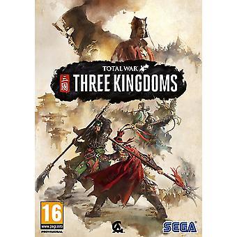 مجموع الحرب ثلاث ممالك محدودة طبعة PC CD لعبة