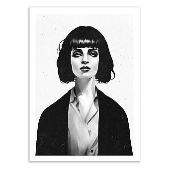 Art-Poster-MW. Mia Wallace-Ruben Ierland 50 x 70 cm
