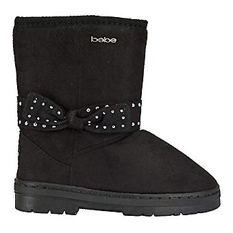 bebe Girls Winter Boots with Studded Bows Casual Dress Shoes