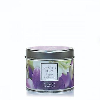 Ashleigh & Burwood Duften Home Zinn Kerze 165g Freesia & Orchidee