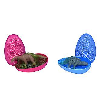 Dino munat kristalli kitti valikoitu värit laatikko 12