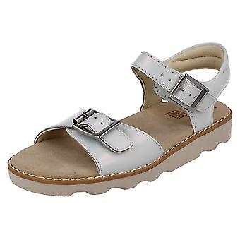Filles Clarks Casual Summer Sandals Couronne Bloom K