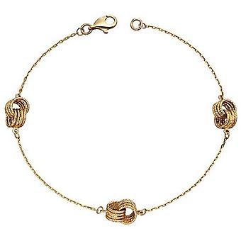 Elements Gold Knot Station Bracelet - Or