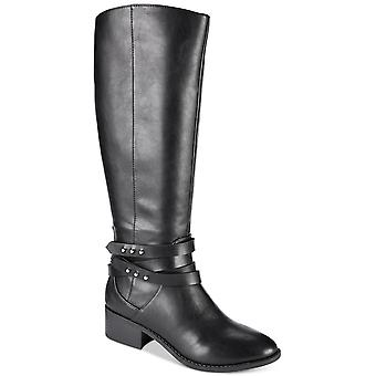 Material Girl Womens Damien Almond Toe Knee High Fashion Boots