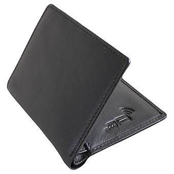 David Van Hagen Billfold Card Case - Black