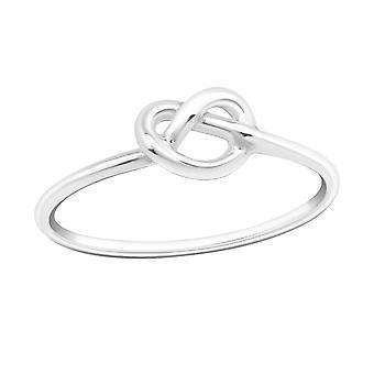 Infinity - 925 Sterling Silber Plain Ringe - W17202X