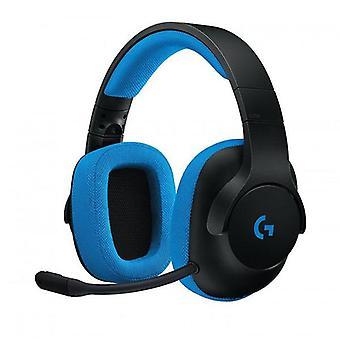 G233 ακουστικά παιχνιδιών μπλε
