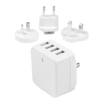 Startech 4 Port Usb Wall Charger 34W